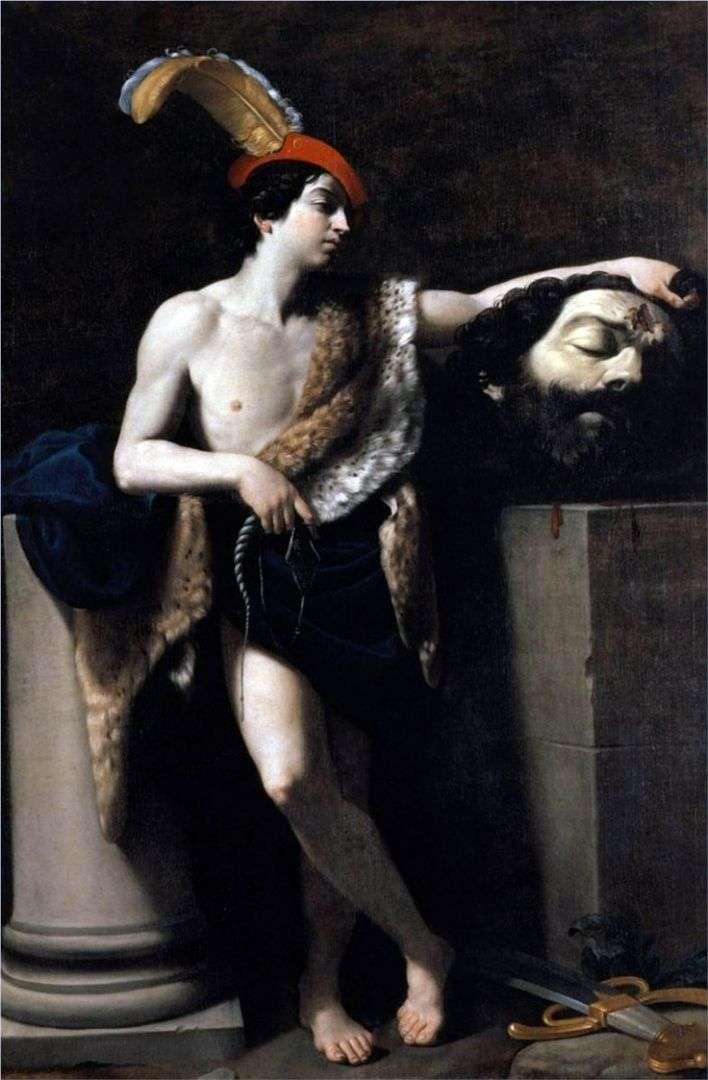 David z głową Goliata   Guido Reni