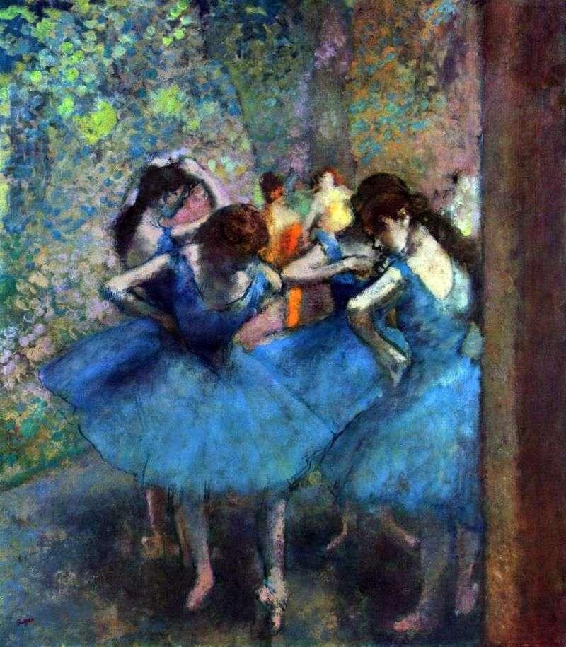 Tancerze na próbach   Edgar Degas