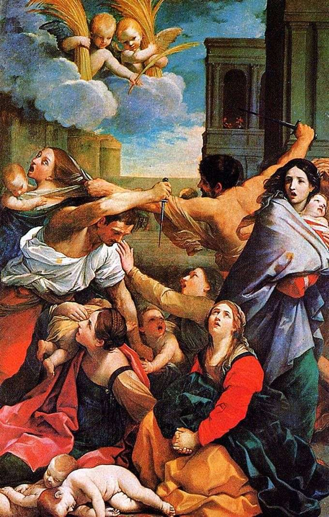 Bicie dzieci   Guido Reni