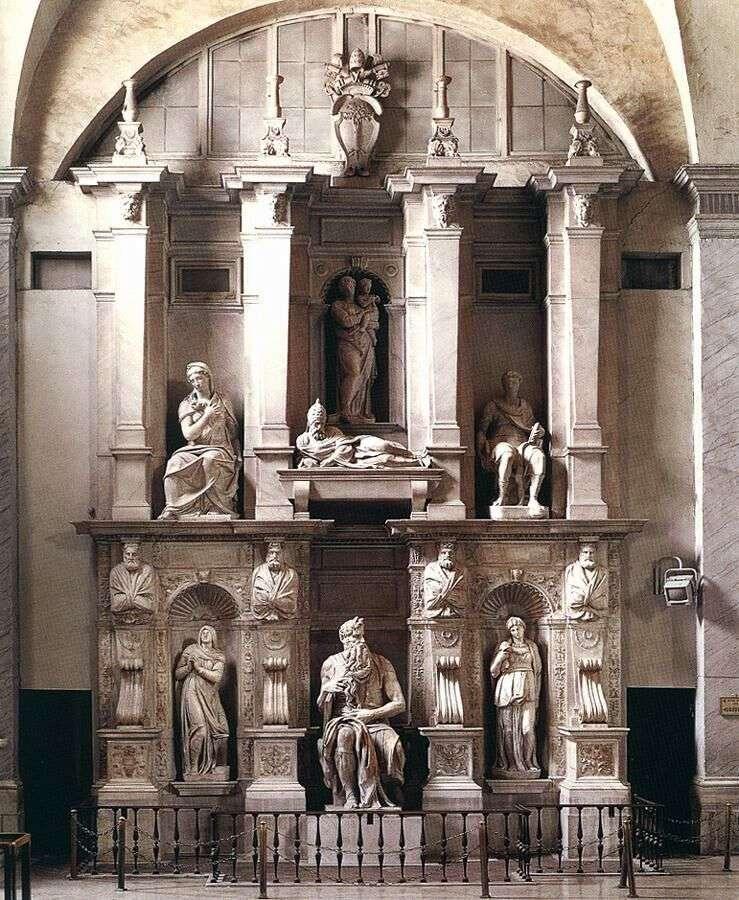 Sanktuarium Juliusza II   Michelangelo Buonarroti