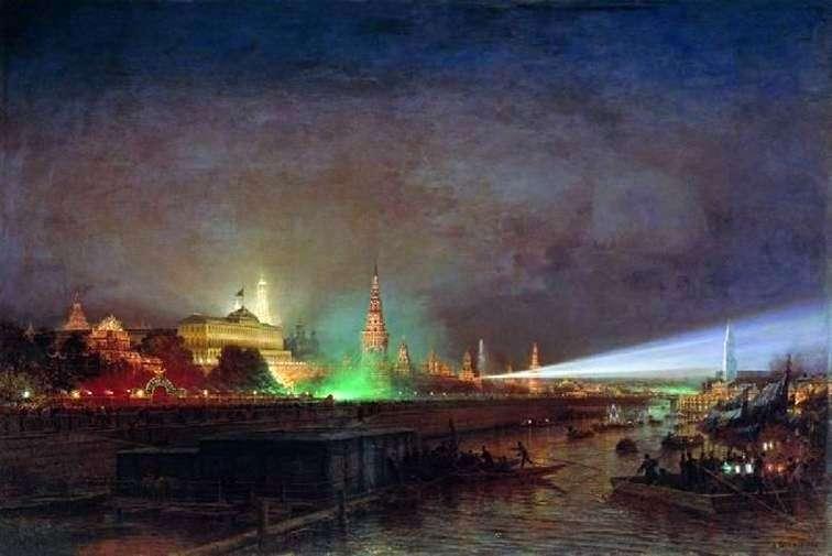 Oświetlenie Kremla   Alexei Bogolyubov