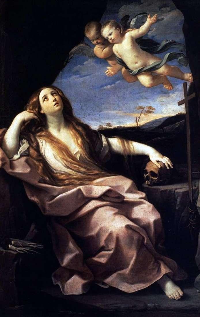 Maria Magdalena i anioły   Guido Reni