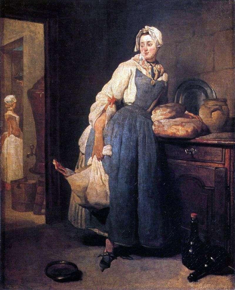 Raznoschitsa   Jean Baptiste Simeon Chardin