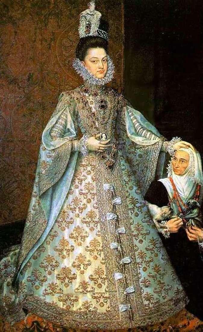 Infanta Isabel i Magdalena Ruiz   Alonso Sánchez Coelho