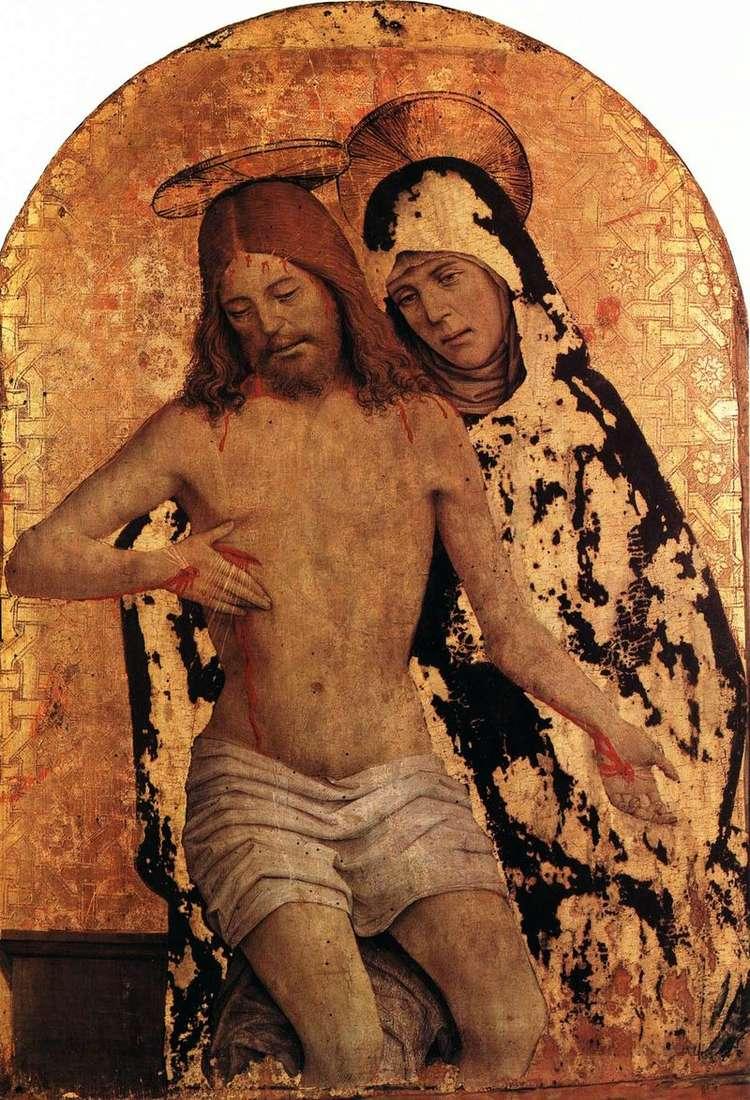Maryja z ciałem Chrystusa   Jan Spantsotti