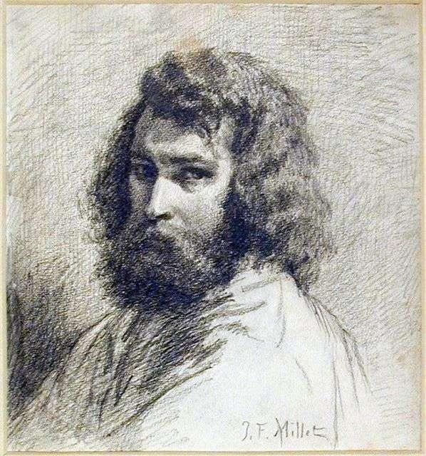 Autoportret   Jean Francois Millet