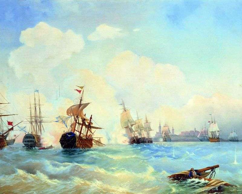 Revel Battle 2 maja 1790   Alexei Bogolyubov