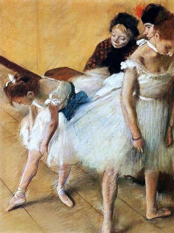 Egzamin taneczny   Edgar Degas