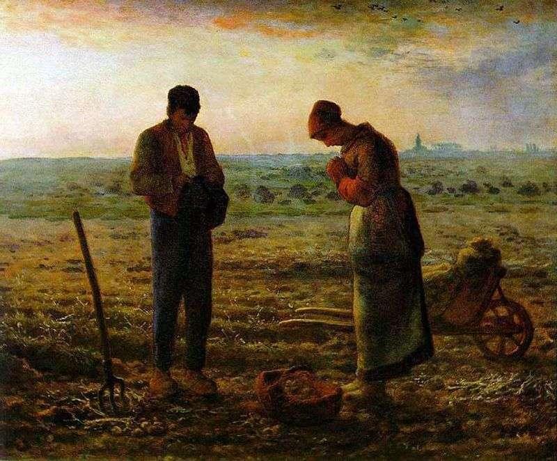 Angelyus (wieczorna modlitwa)   Jean Francois Millet