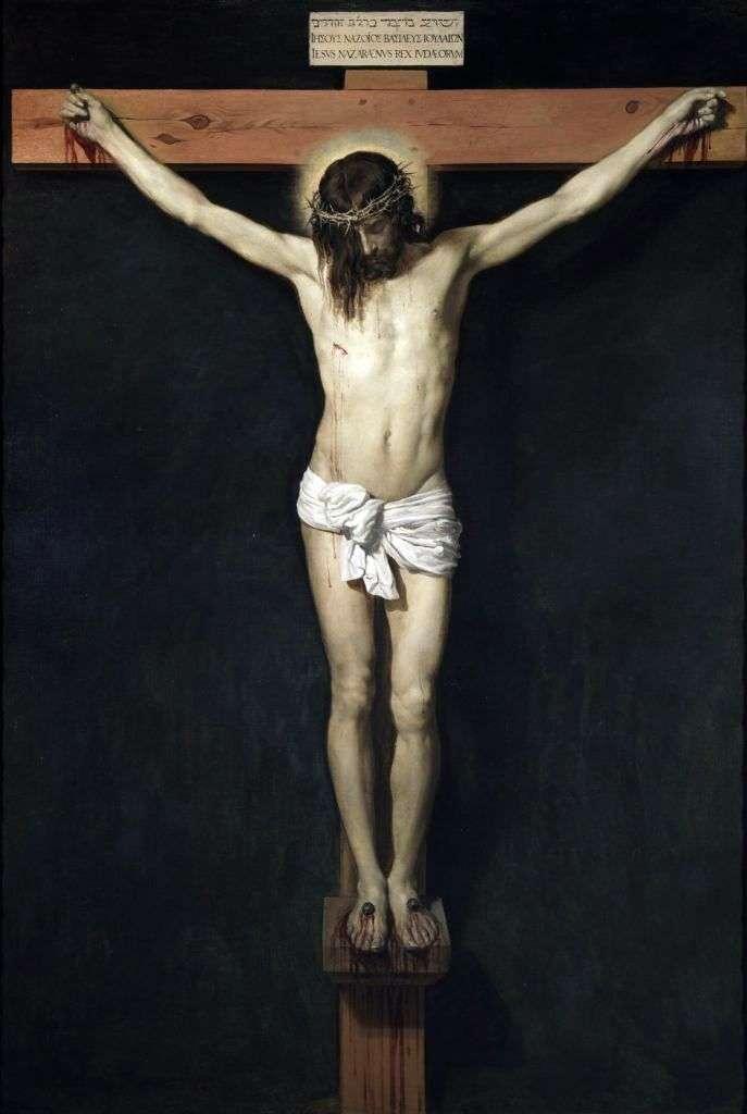 Chrystus na krzyżu   Diego Velasquez
