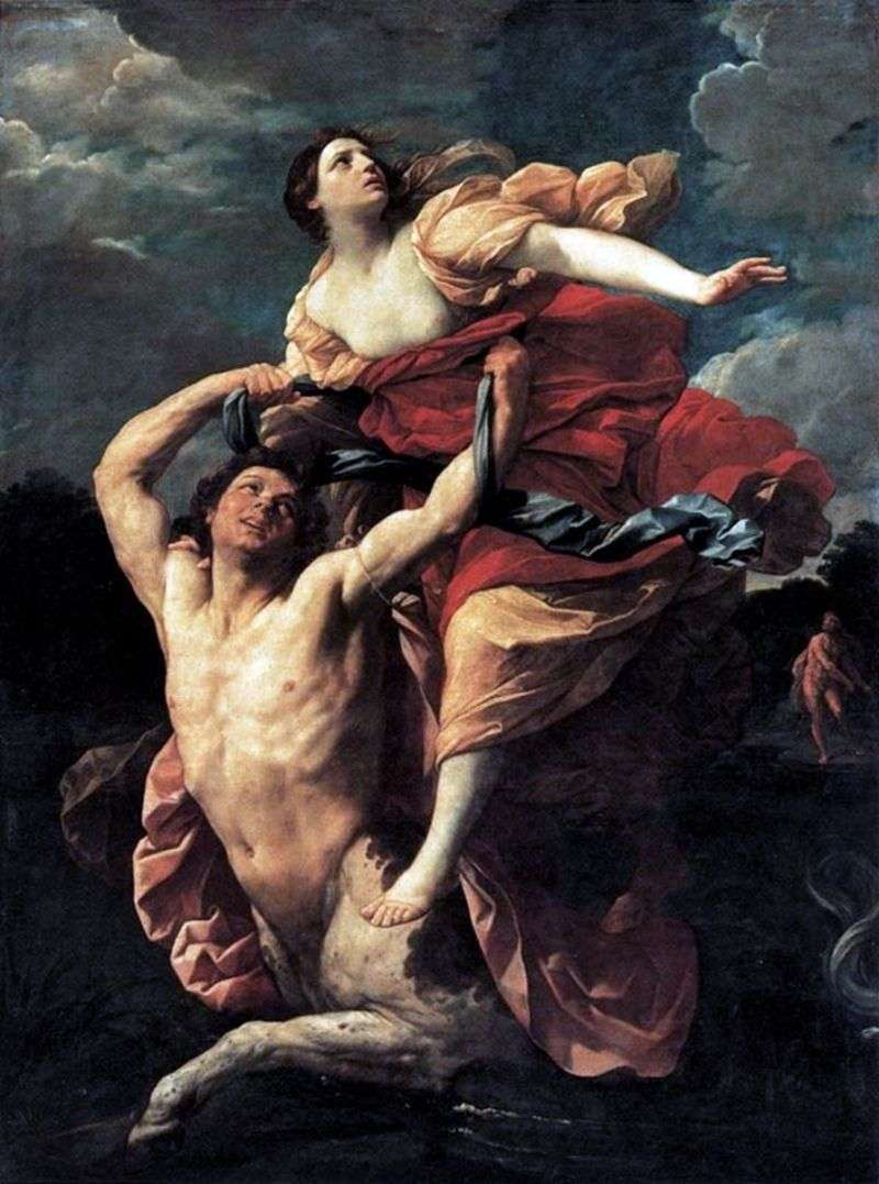 Porwanie Dejaniry   Guido Reni