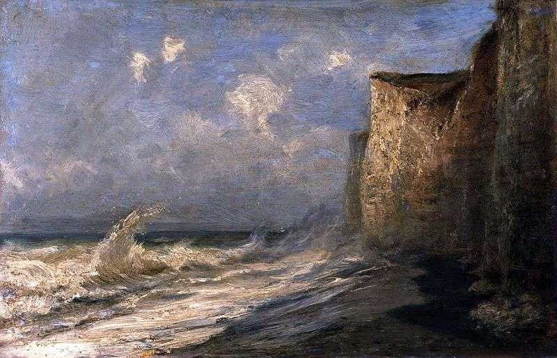 Etretat. Low Tide (Francja)   Alexey Bogolyubov
