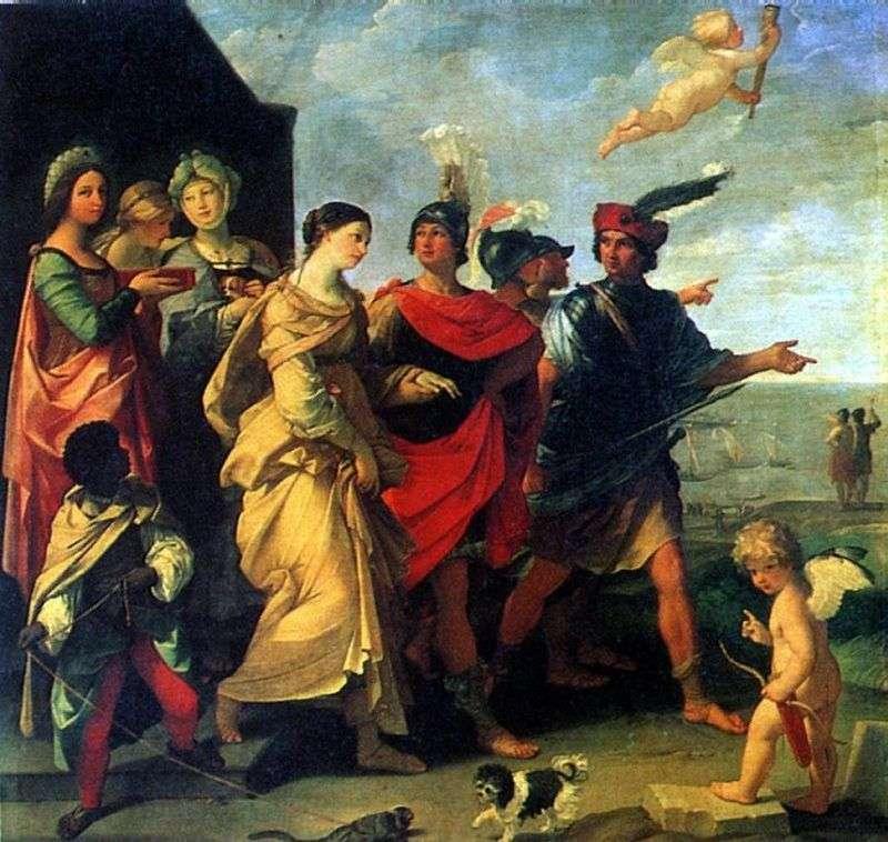 Porwanie Heleny   Guido Reni