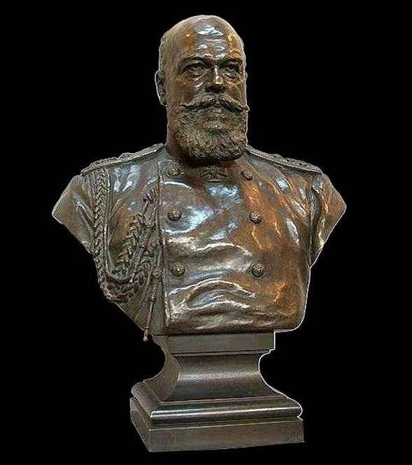 Popiersie cesarza Aleksandra III   Aleksandra Bocka