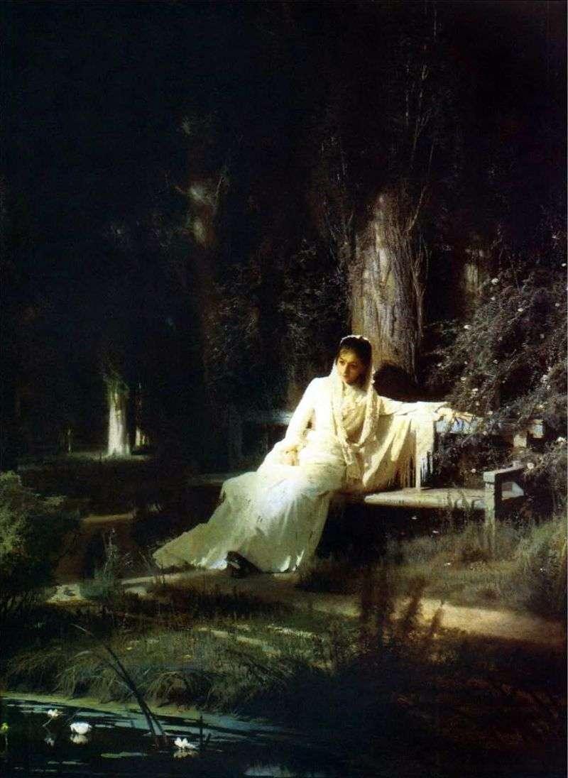 Noc Księżycowa   Ivan Kramskoy