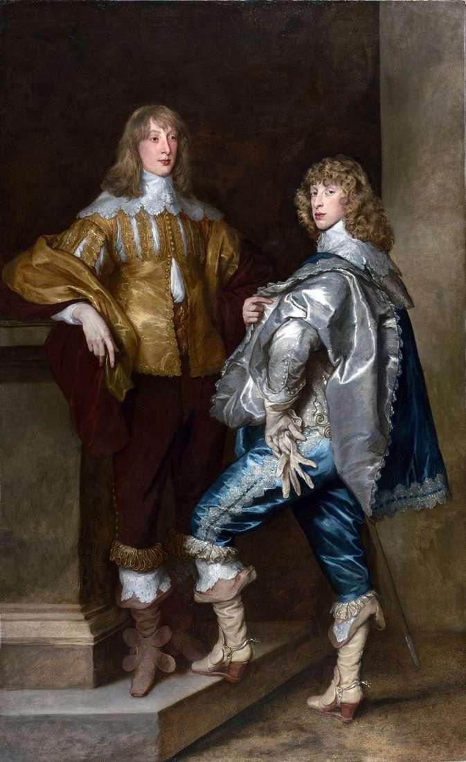 Lord John Stewart i lord Bernard Stewart   Anthony Van Dyck