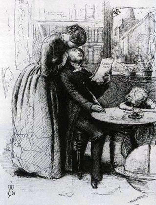 Zakochana para   John Everett Millais