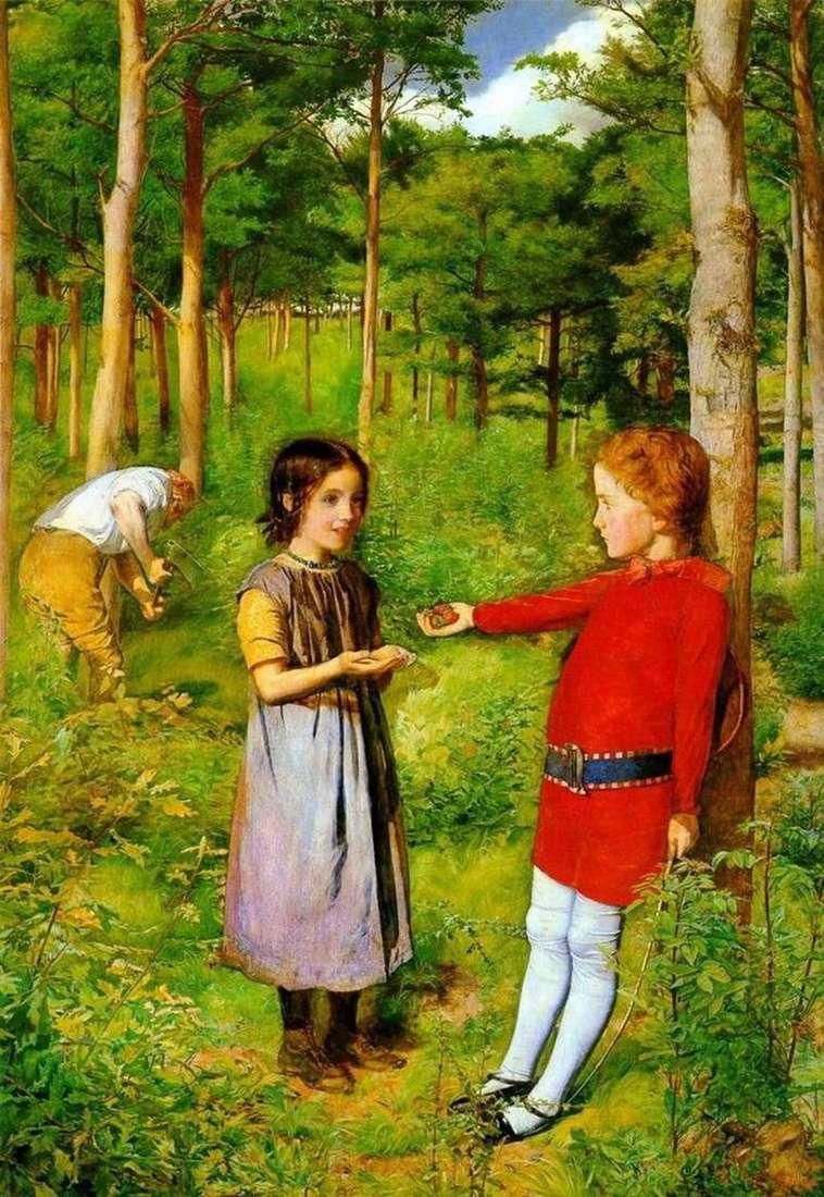 Córka drwala   John Everett Millais