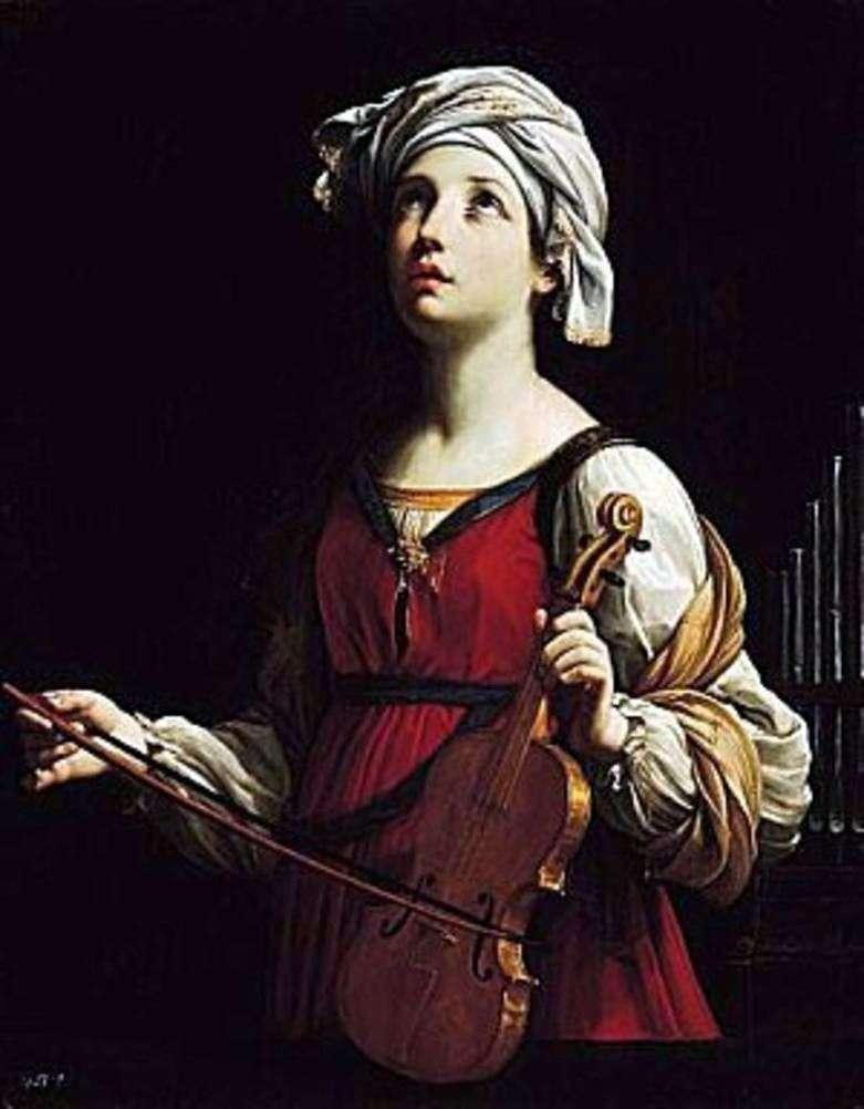 Saint Cecilia   Guido Reni