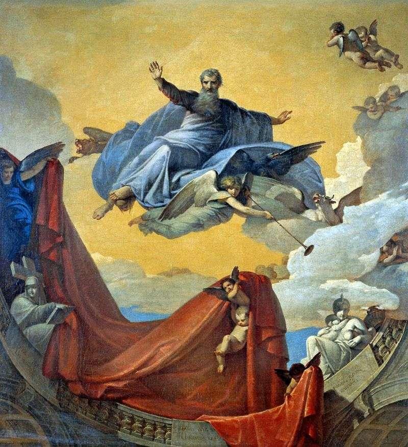 Wizja proroka Ezechiela   V. K. Shebuev
