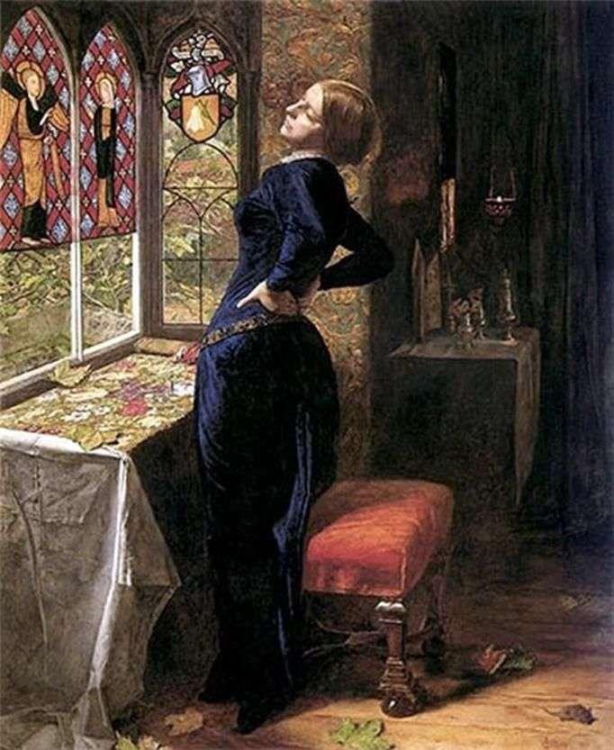 Mariana   John Everett Millais