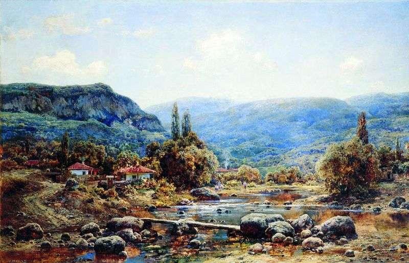 Wioska Kokoz na Krymie   Ivan Avgustovich Velts