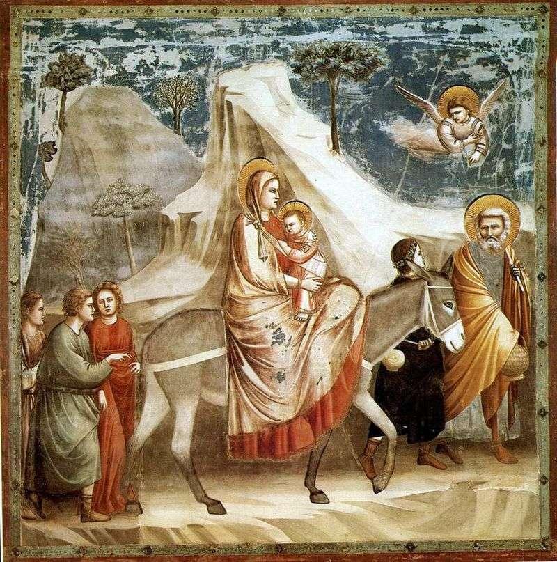 Lot do Egiptu   Giotto di Bondone