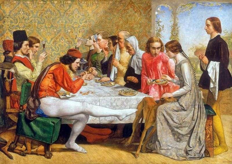Isabella   John Everett Millais