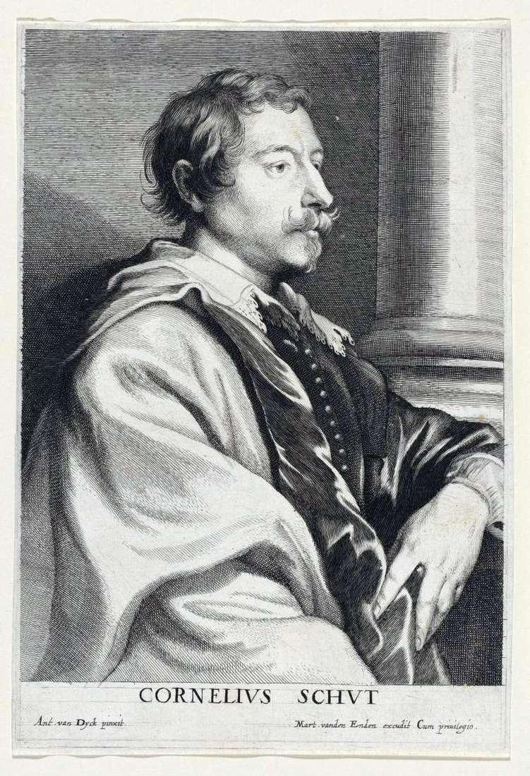 Portret Cornelisa Shaty   Anthonyego Van Dycka