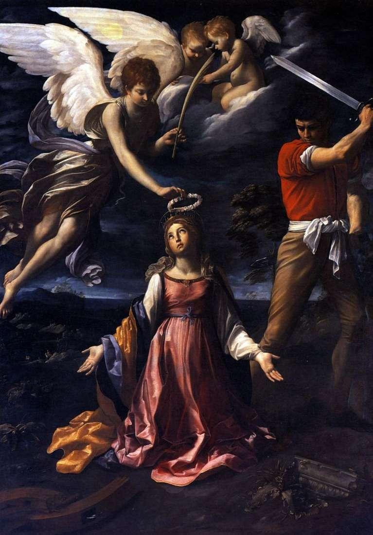 Śmierć Katarzyny Aleksandryjskiej   Guido Reni