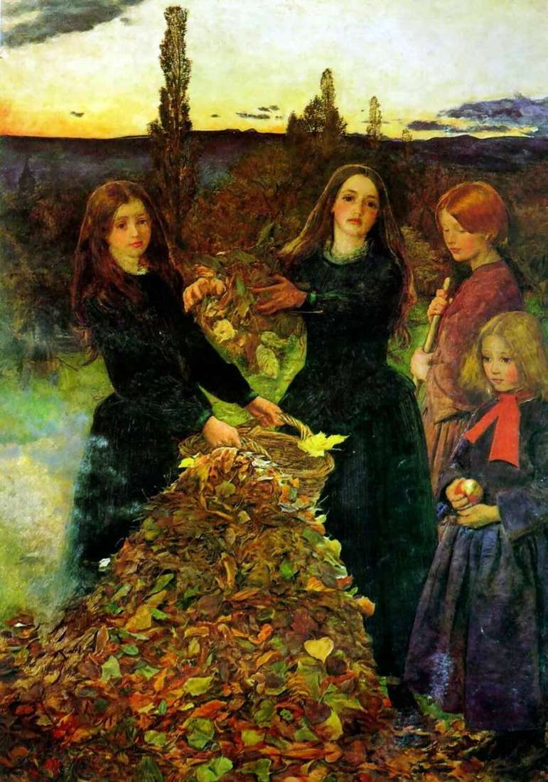 Jesienne liście   John Everett Millais