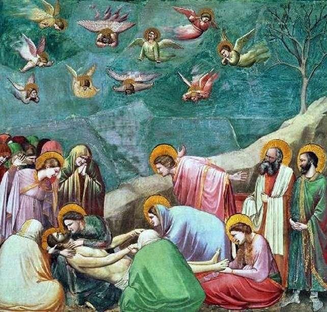 Lamentacja Chrystusa   Giotto di Bondone