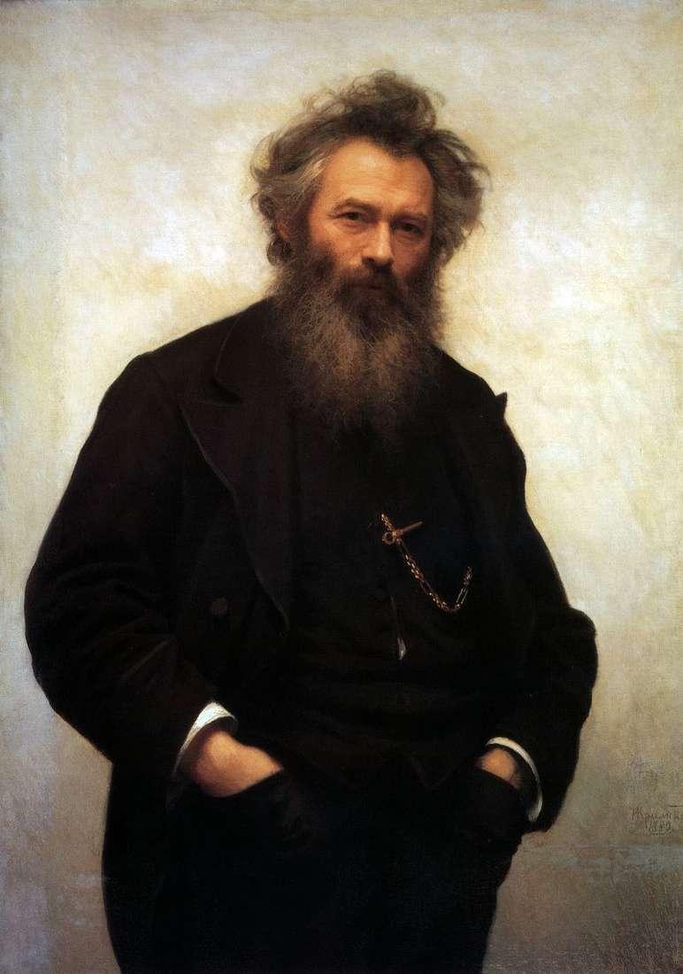 Portret I. I. Szyszkina   Iwan Kramskoj