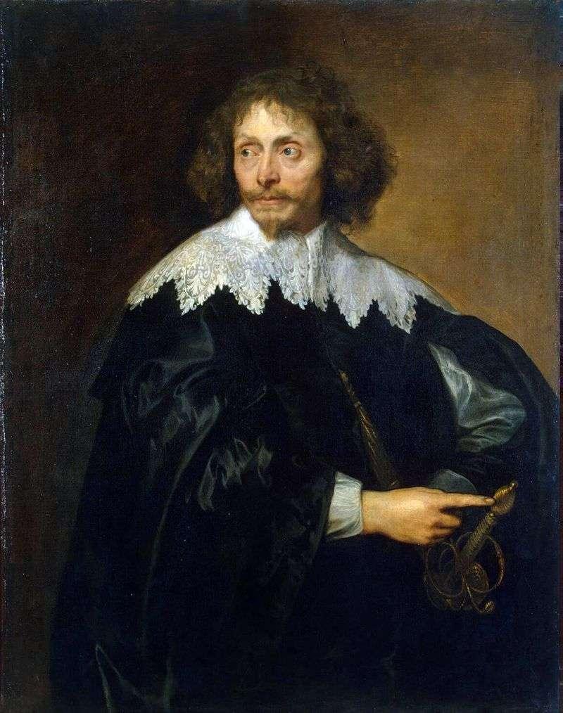 Portret Sir Thomasa Chalonera   Anthonyego Van Dycka