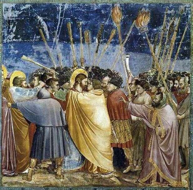 Kiss of Judah   Giotto di Bondone