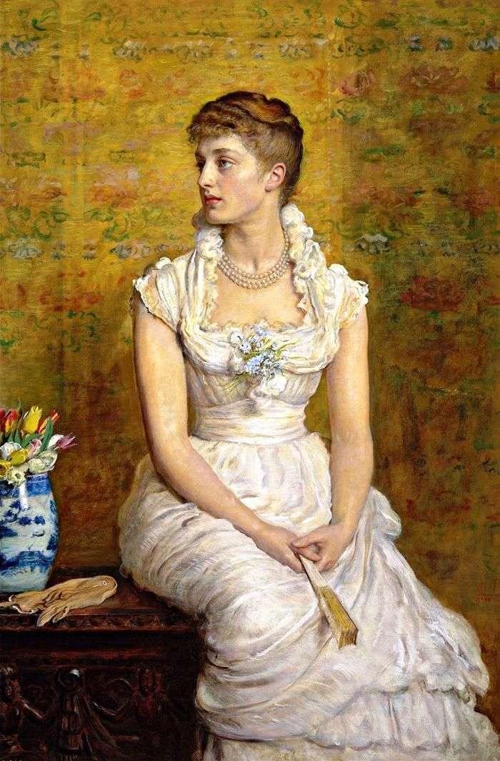Portret Lady Campbell   John Everett Milles