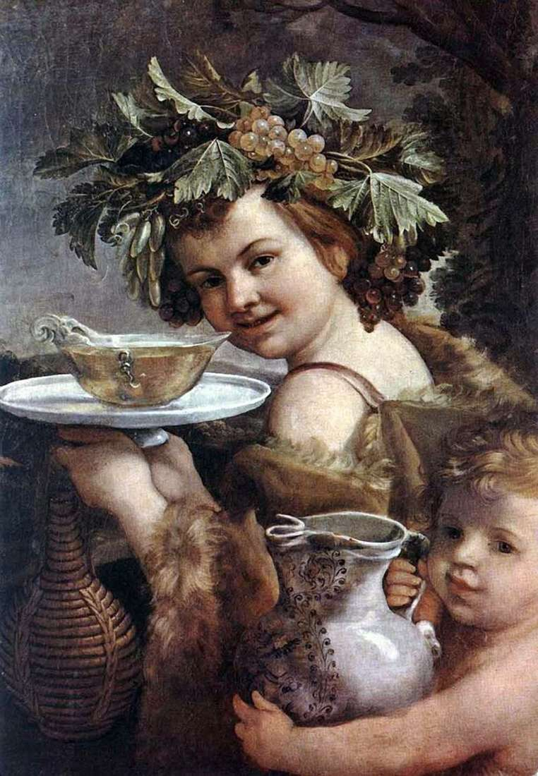 Junior Bacchus   Guido Reni