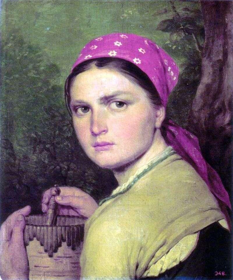 Dziewczyna z burakami   Alexey Venetsianov
