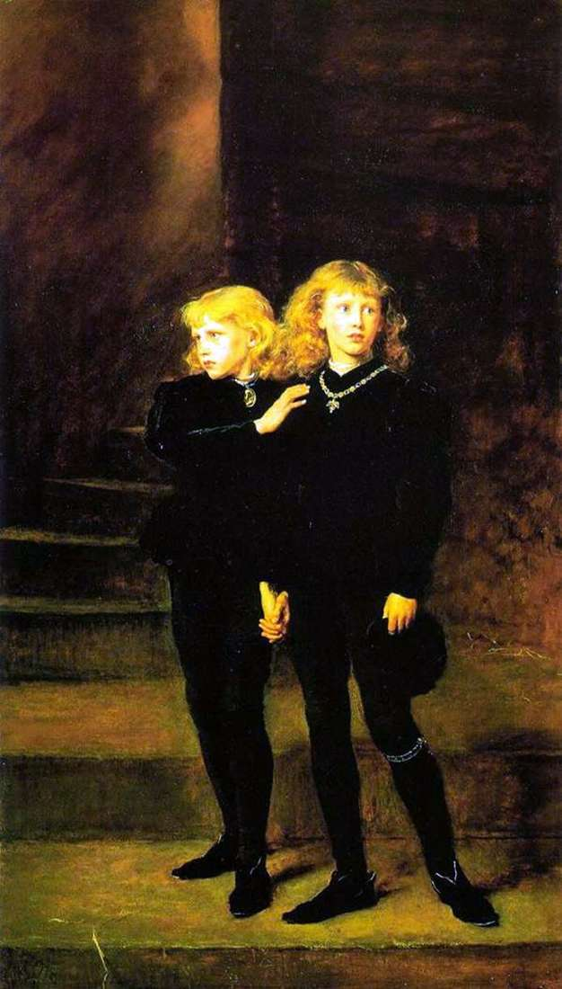 Princes in the Tower   John Everett Millais