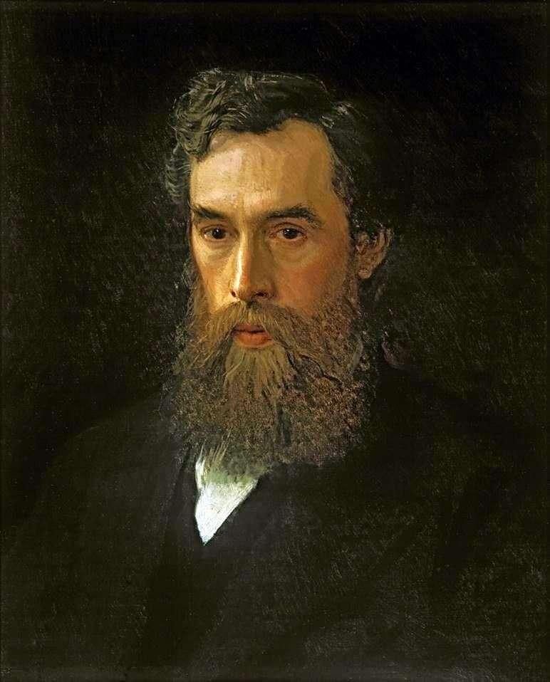 Portret Pawła Michajłowicza Tretiakowa   Iwana Kramskoja