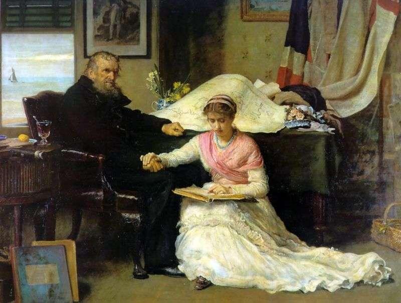 Przejście Północno Zachodnie   John Everett Millais