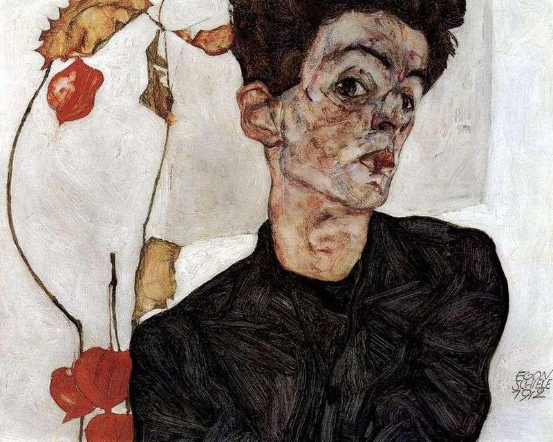 Autoportret   Egon Schiele