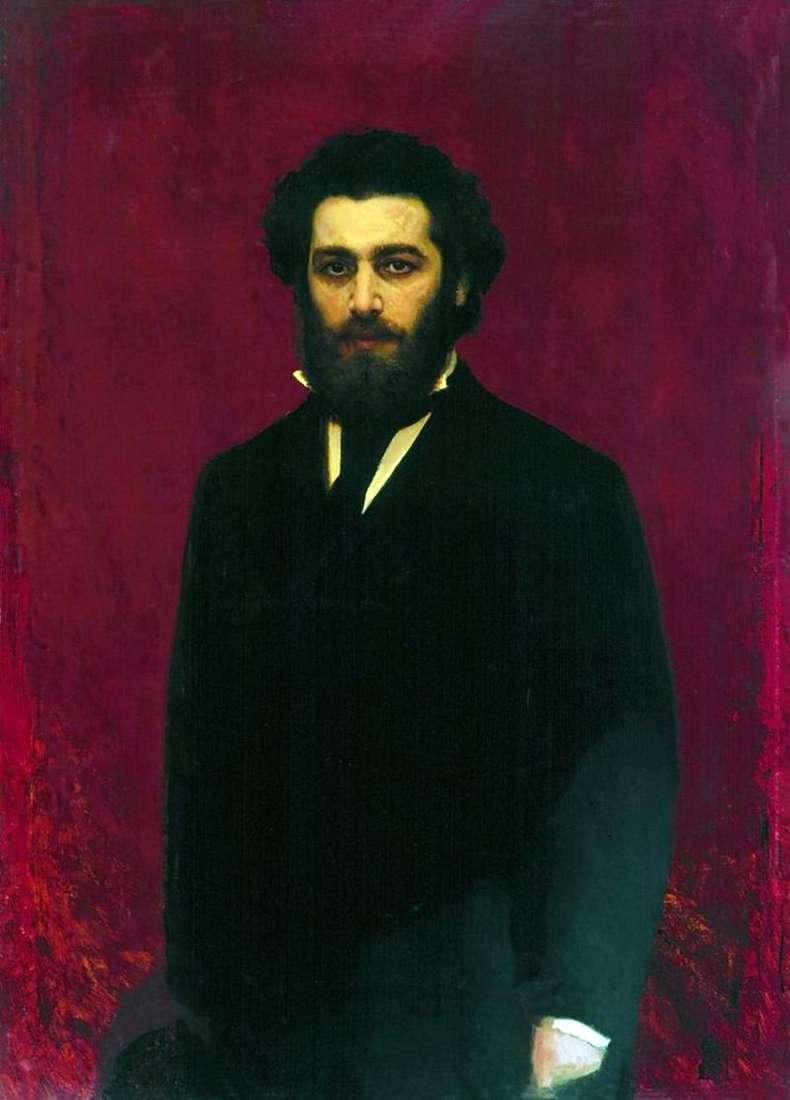 Portret artysty Arkhip Ivanovich Kuindzhi   Ivan Kramskoy