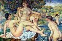 Świetni kąpielowicze   Pierre Auguste Renoir
