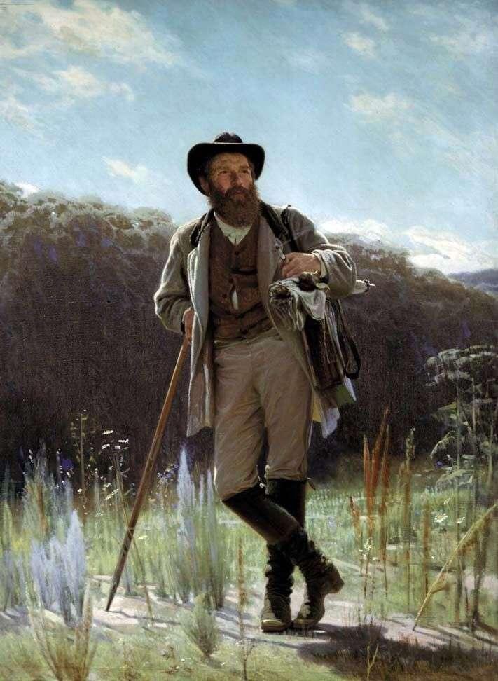 Portret artysty I. Szyszkina   Iwan Kramskoj