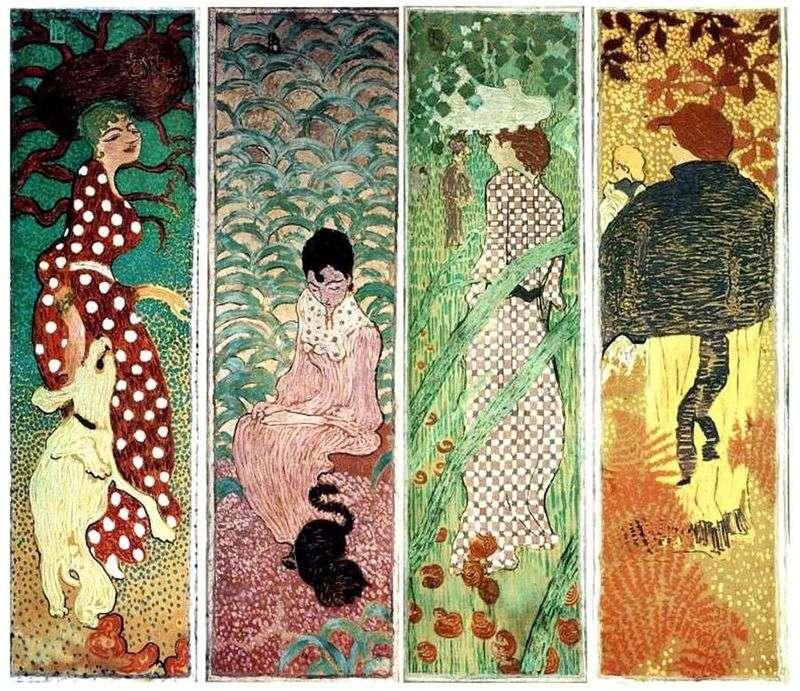 Kobiety w ogrodzie   Pierre Bonnard