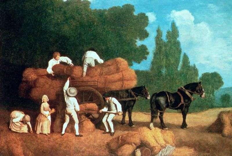 Wózek żniwny   George Stubbs