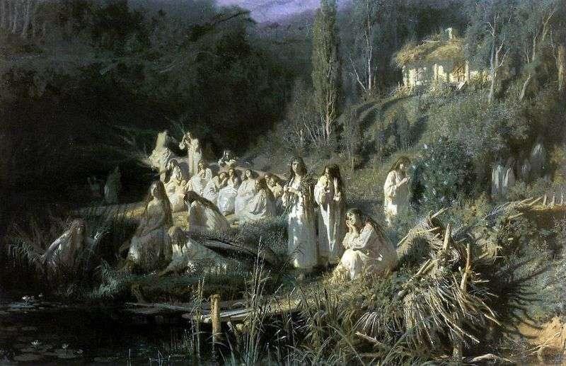 May Night (Mermaids)   Ivan Kramskoy