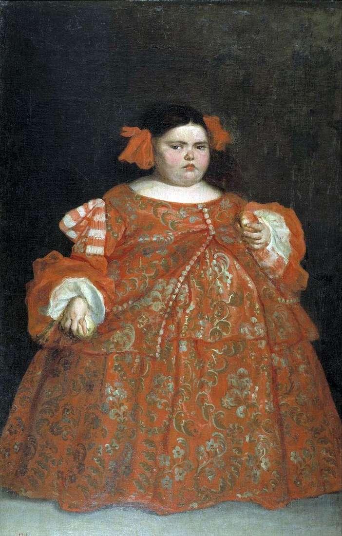 Portret Eugenii Martinez Vallejo (la Monster)   Juan Carreno de Miranda