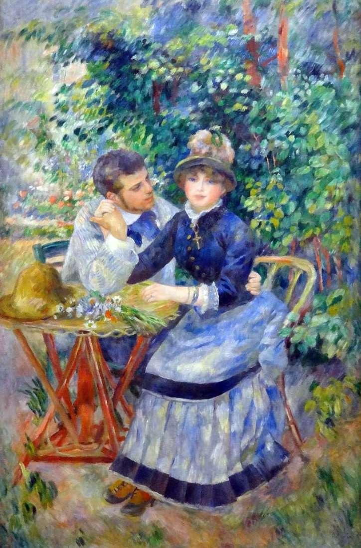 W ogrodzie   Pierre Auguste Renoir